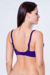 Бюстгальтер, цвет - фиолетовый_0