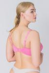 Бюстгальтер, цвет - розовый_0