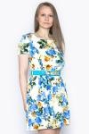 Платье, цвет - цветы
