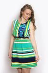 Платье, цвет - зеленый
