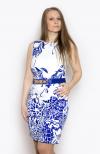 Платье, цвет - синий1