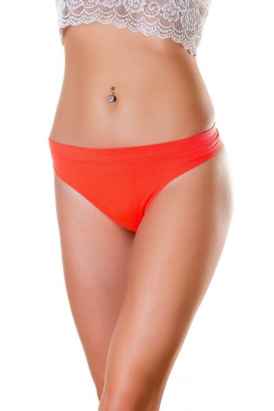 Трусы женские, артикул: SWB0703S, цвет - оранжевый