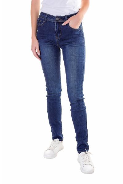Джинсы женские, артикул: SN60381, цвет - джинсовый