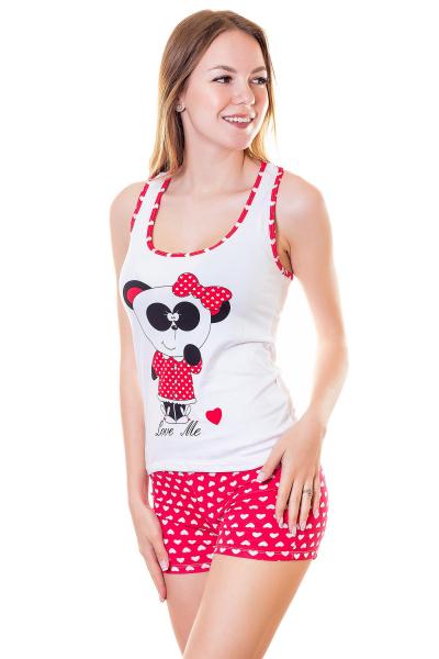 Пижама, артикул: XP1821, цвет - белый