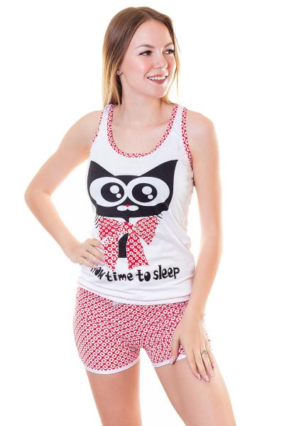 Пижама, артикул: XP1855, цвет - белый