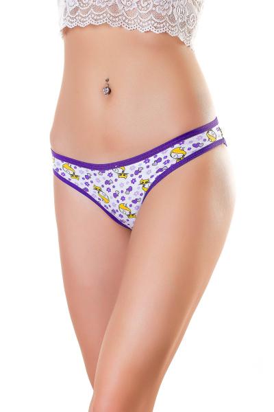 Трусы женские, артикул: YE2229, цвет - фиолетовый