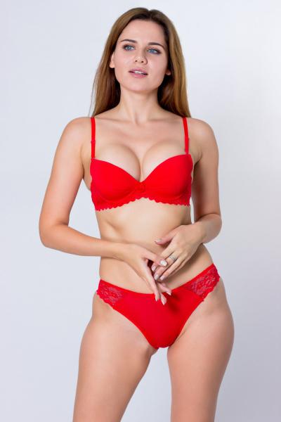 Комплект, артикул: ASVK0706B, цвет - красный