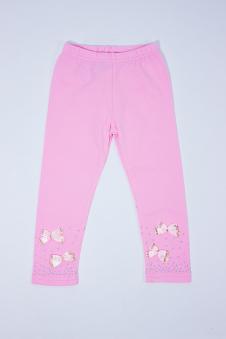 Лосины для девочек, цвет - розовый