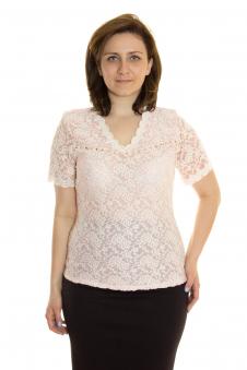 Блузка, цвет - персиковый