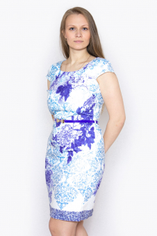 Платье, цвет - фиолетовый