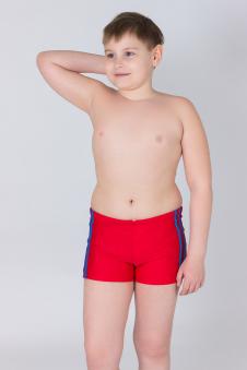 Плавки для мальчиков, цвет - красный