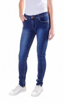 Джинсы женские, цвет - джинсовый