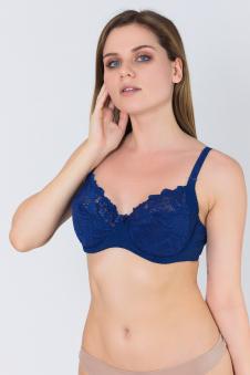 Бюстгальтер, цвет - т.синий