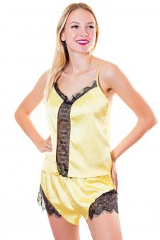 Пижама, цвет - желтый