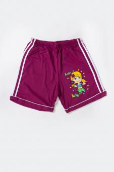 Шорты для девочки, цвет - фиолетовый