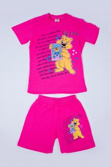 Костюм для девочек, цвет - розовый