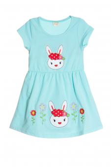 Платье, цвет - голубой