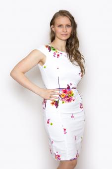 Платье, цвет - белый