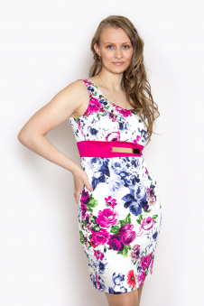 Платье, цвет - малиновый