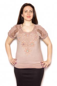 Блузка, цвет - бежевый