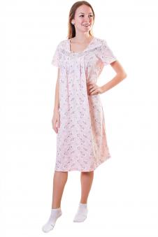 Сорочка, цвет - персиковый