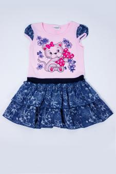 Платье, цвет - розовый