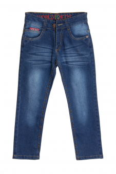 Джинсы для мальчика, цвет - джинсовый