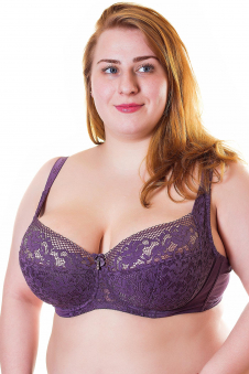 Бюстгальтер, цвет - пурпурный