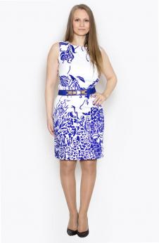 Платье, цвет - синий