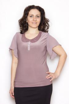 Блузка, цвет - св.лиловый